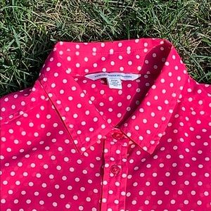 American Eagle Outfitters Tops - 💥SALE💥Pink Polka'd